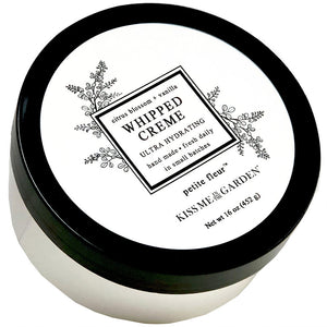 Kiss Me In The Garden Petite Fleur Whipped Body Creme 16 oz
