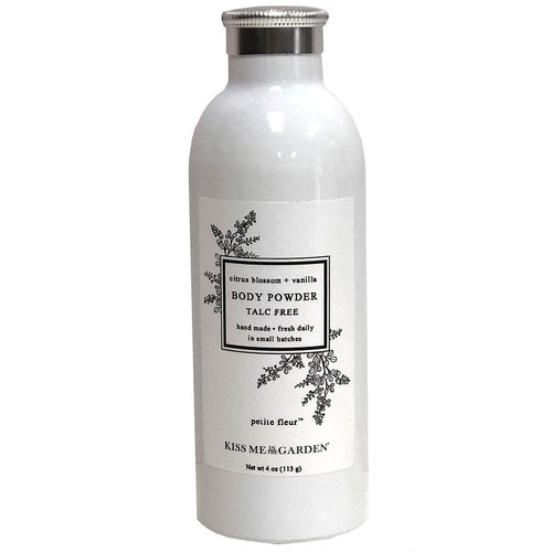 Kiss Me In The Garden Petite Fleur Talc-Free Powder 4 oz