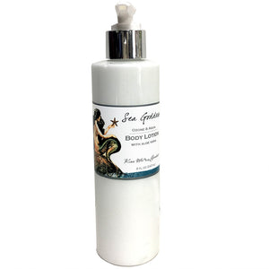 KISS ME IN THE GARDEN Sea Goddess Body Lotion 8oz