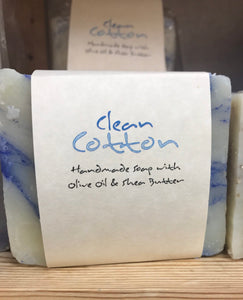 ADAM'S NATURAL SOAP Clean Cotton