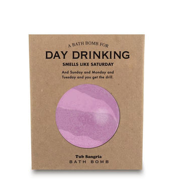 Whiskey River Soap Co. Bath Bomb Day Drinking