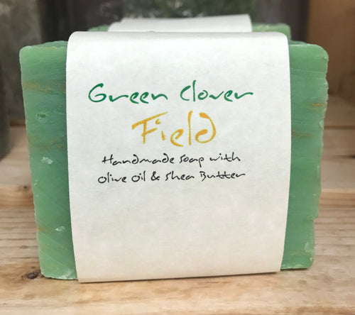 ADAM'S NATURAL SOAP Green Clover Field