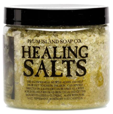 Plum Island Soap Co Healing Salts