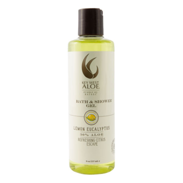 KEY WEST ALOE Lemon Eucalyptus Bath & Shower Gel