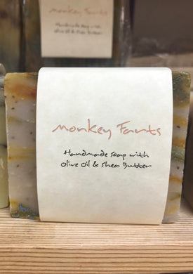 ADAM'S NATURAL SOAP Monkey Soap