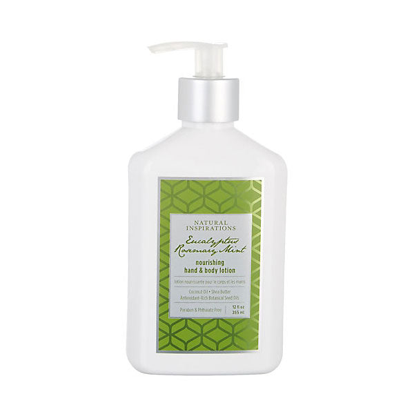 NATURAL INSPIRATIONS Eucalyptus Rosemary Mint Hand & Body Lotion