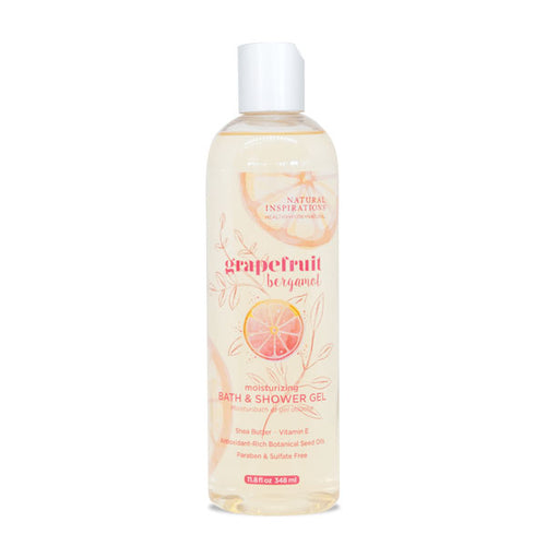 NATURAL INSPIRATIONS Grapefruit Bergamot Bath & Shower Gel
