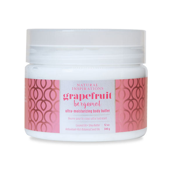 NATURAL INSPIRATIONS Grapefruit Bergamot Body Butter