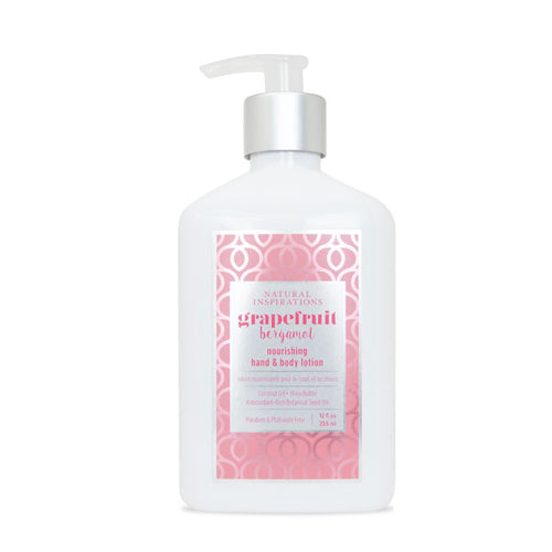 NATURAL INSPIRATIONS Grapefruit Bergamot Hand & Body Lotion