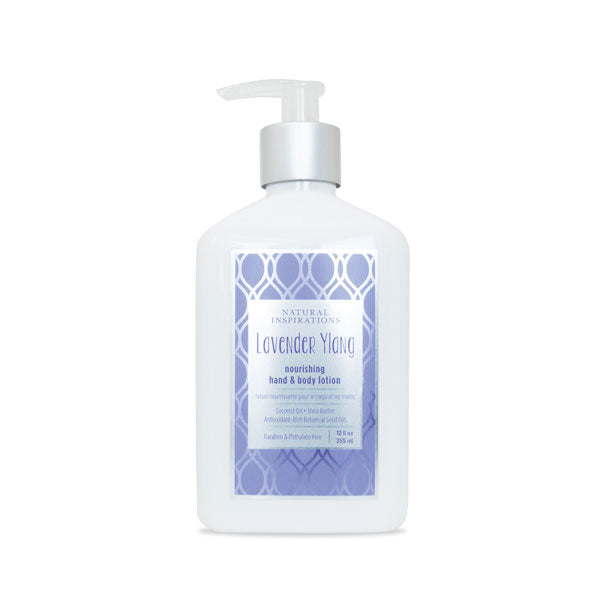 NATURAL INSPIRATIONS Lavender Ylang Hand & Body Lotion