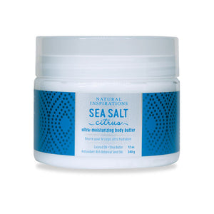 NATURAL INSPIRATIONS Sea Salt Citrus Body Butter