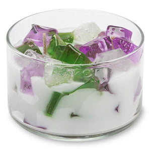 PRIMAL ELEMENTS 2-Wick Color Bowl Candle Lavender