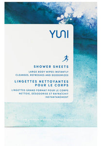 YUNI Beauty SHOWER SHEETS Box of 12
