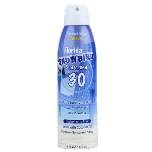 FLORIDA SALT SCRUBS Florida Snowbird SPF 30 Sunscreen