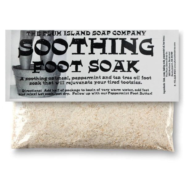 PLUM ISLAND SOAP COMPANY Soothing Foot Soak