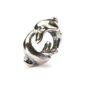 Trollbeads Playing Dolphins Bead