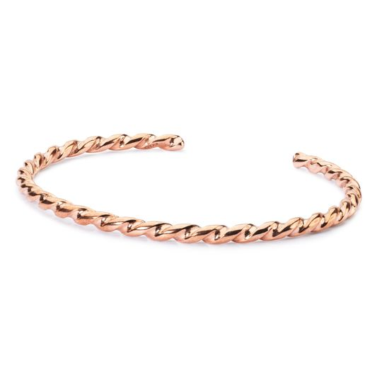 Trollbeads Twisted Copper Bangle S