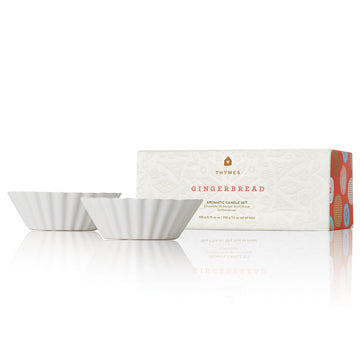 THYMES Gingerbread Ceramic Tart Set