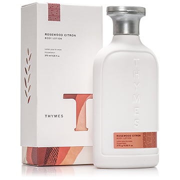 THYMES Rosewood Citron Body Lotion