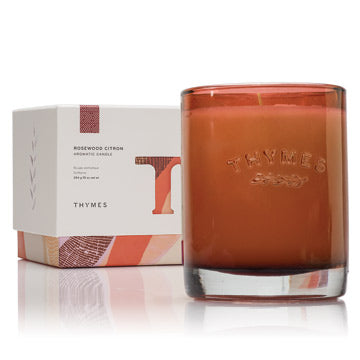 THYMES Rosewood Citron Candle