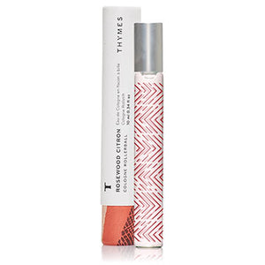 THYMES Rosewood Citron Cologne Rollerball