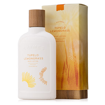 THYMES Tupelo Lemongrass Body Lotion