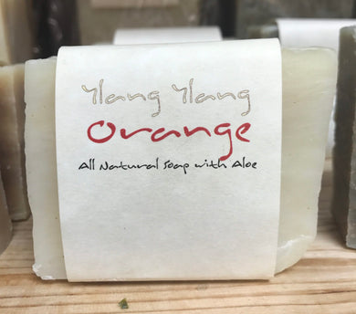 ADAM'S NATURAL SOAP Ylang Ylang Orange