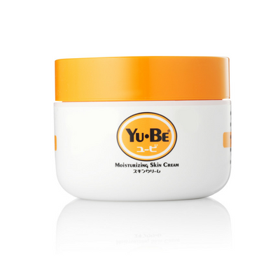 YU-BE Moisturizing Skin Cream Jar