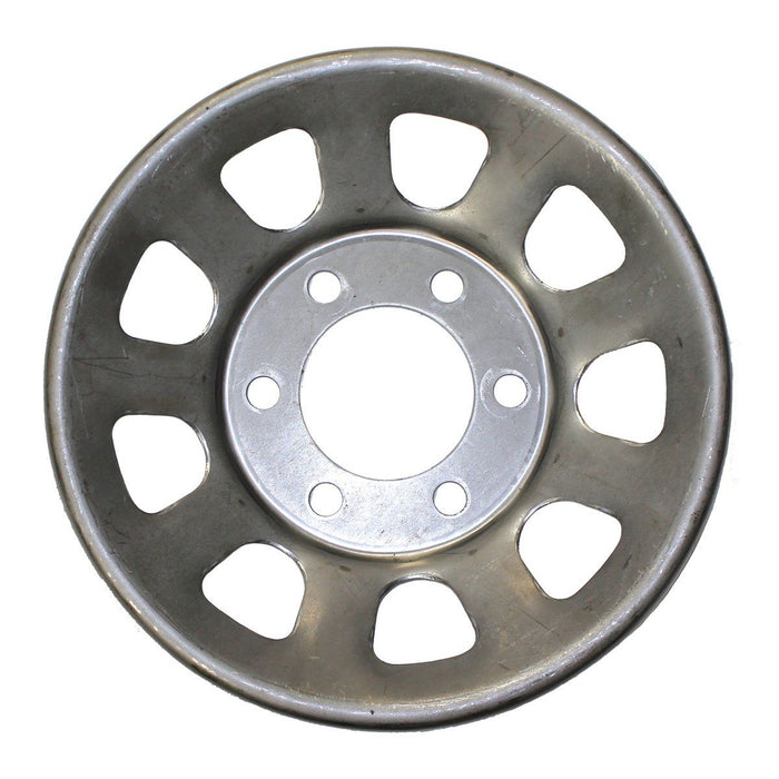 STEEL WHEEL CENTER 6 PIN RAW