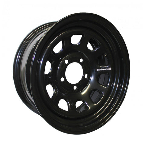 STOCKCAR WELDED WHEEL 15 X 7 DAYTONA BLACK