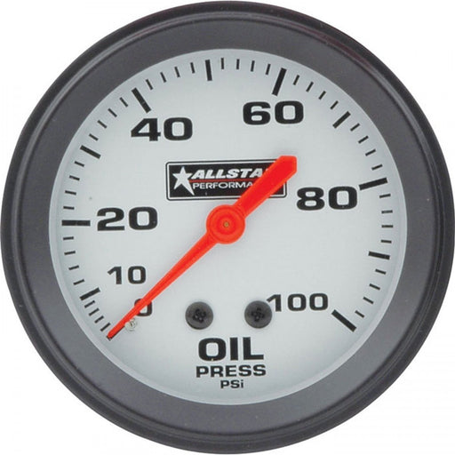 ALLSTAR OIL PRESSURE GAUGE 0-100PSI
