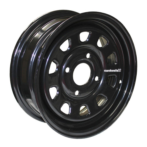 MINISTOCK WELDED WHEEL 13 X 5 DAYTONA BLACK