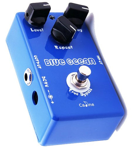 Caline™ Vintage Handmade Blue Ocean Delay Pedal (Mad Professor Deep Blue Delay Clone)