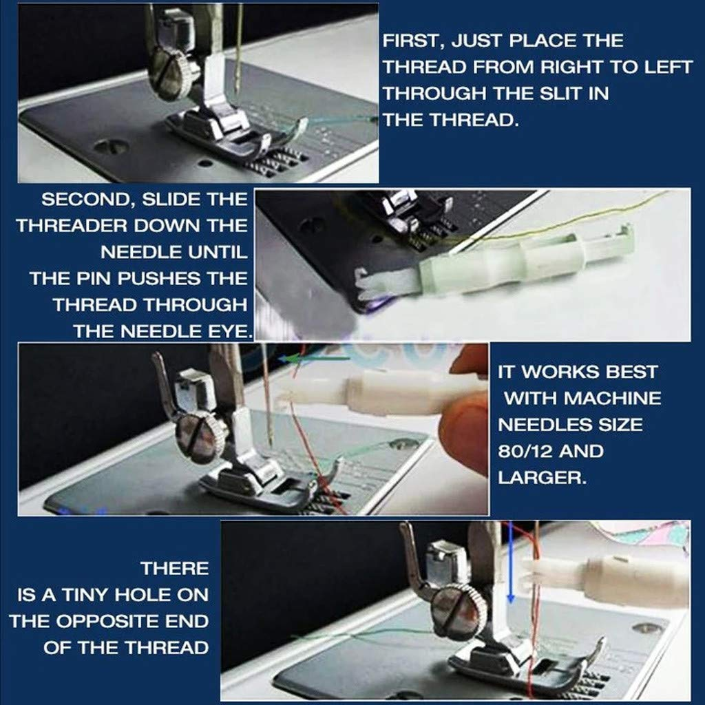 ThreadEase™ Needle Threader And Inserter [2-Pieces Set]