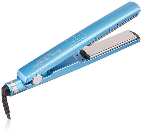 Nano Titanium-Plated 2 In 1 Steam Hair Straightener and Curler