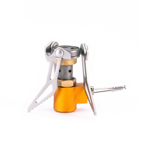 Atomic Fold™ - World's Smallest Titanium Camping Stove