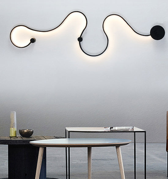 Nordic Abstract Art LED Wall Lights