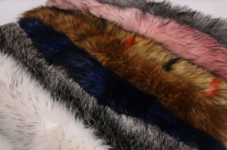 Exotic Fur Collar Designer Parka for Women