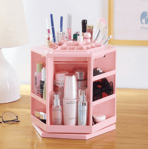 360 Degrees Rotating Makeup Organizer