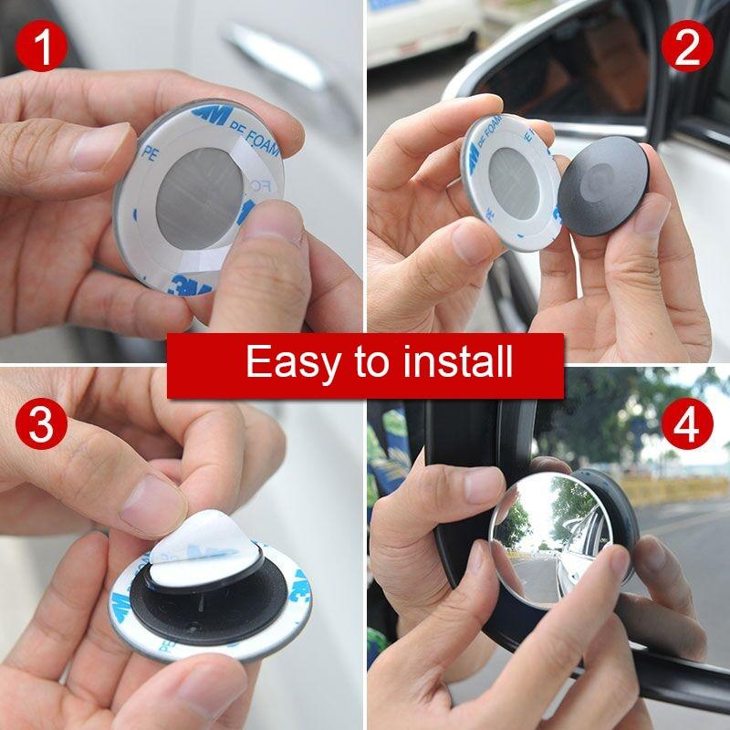360° Blind Spot HD Mirror (2 Pcs/Set)