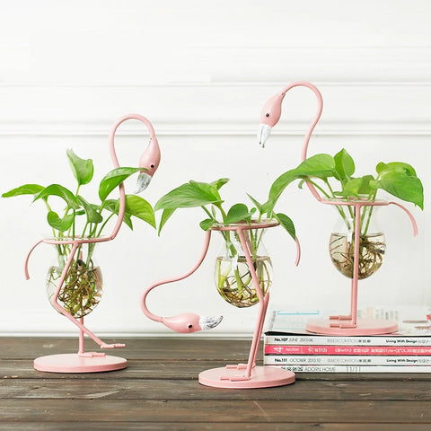 Nordic Minimalist Flamingo Planter by Adriel Karlsson®