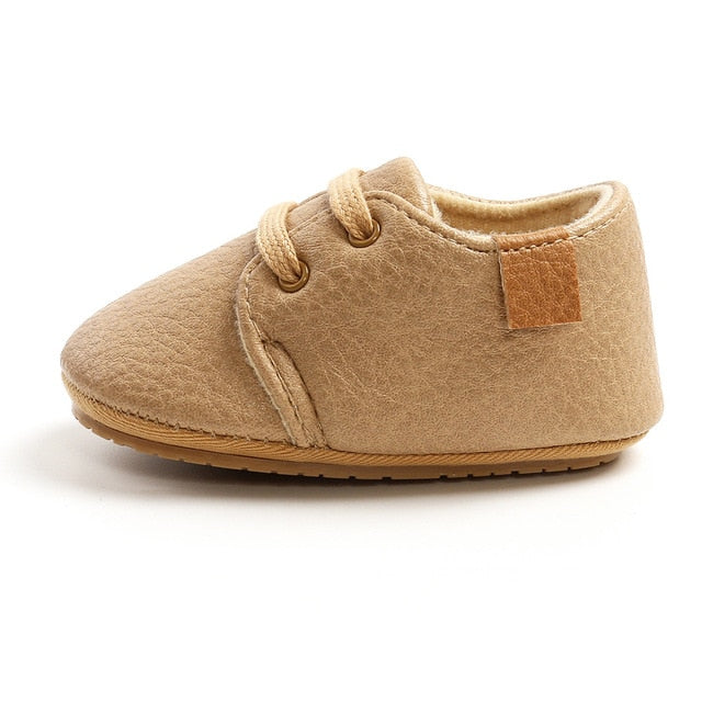 EverydaySteal™ Leather Moccasin Toddler Shoe Boots
