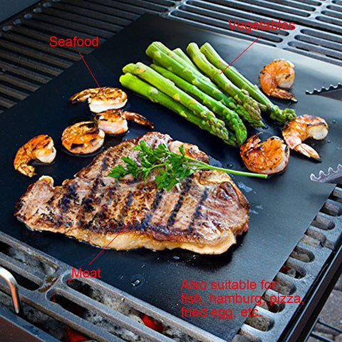 Non-stick BBQ Grill Mat (2 Pieces Set)