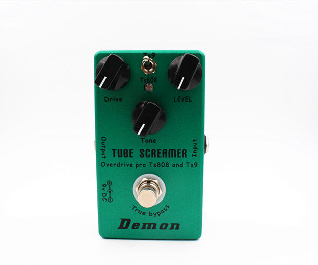Demon™ Vintage Handmade Guitar Effects Pedal Tube Screamer TS9 & TS808 2-in-1 Clone