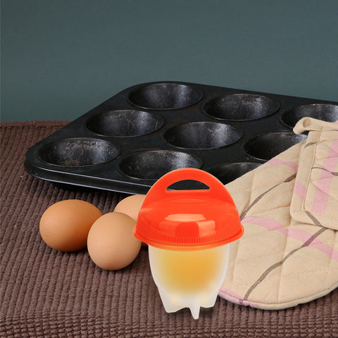 Shell-free Egg Maker (Set of 6) [no need to break boiled-egg shells anymore]