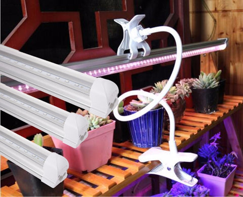 Full Spectrum LED Grow Light Kit with Clamp Holder