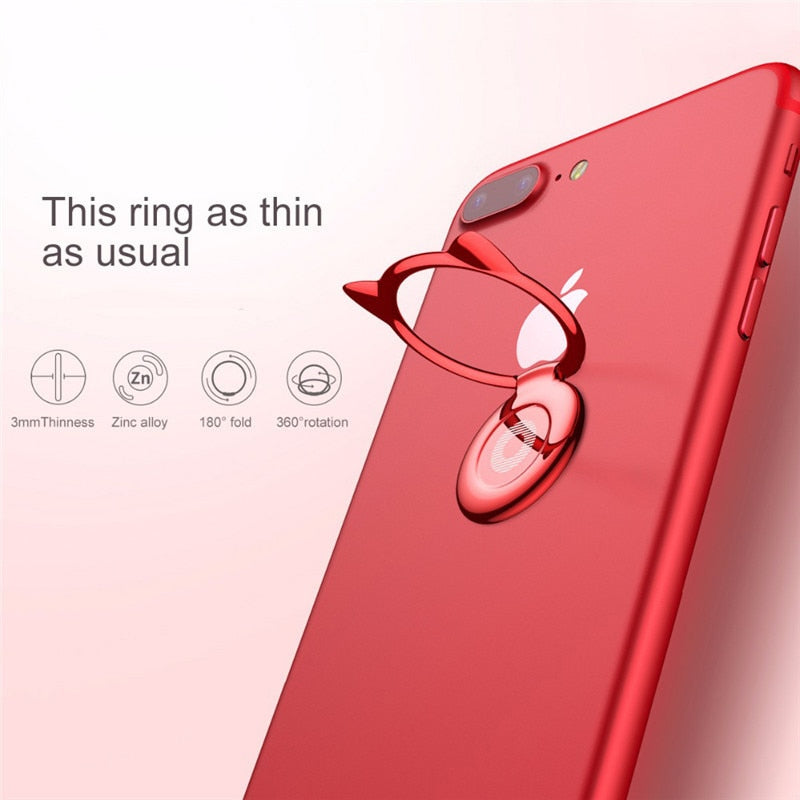 KITTYBEE® Premium Aluminium Finger Ring Phone Holder