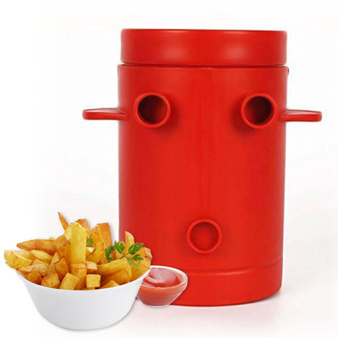 Healthy Microwave French Fries Maker - No Oil Required