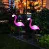 Image of FlickeringWorld™ Flamingo Solar LED Garden Lamps