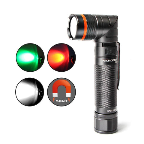 Nicron 360° Twist Magnetic LED Flashlight